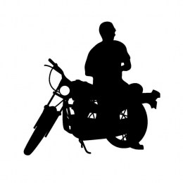 バイク16